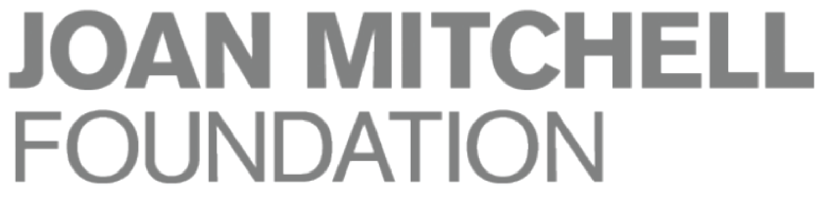 Joan Mitchell Foundation logo