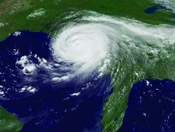 Hurricane Aerial Photo