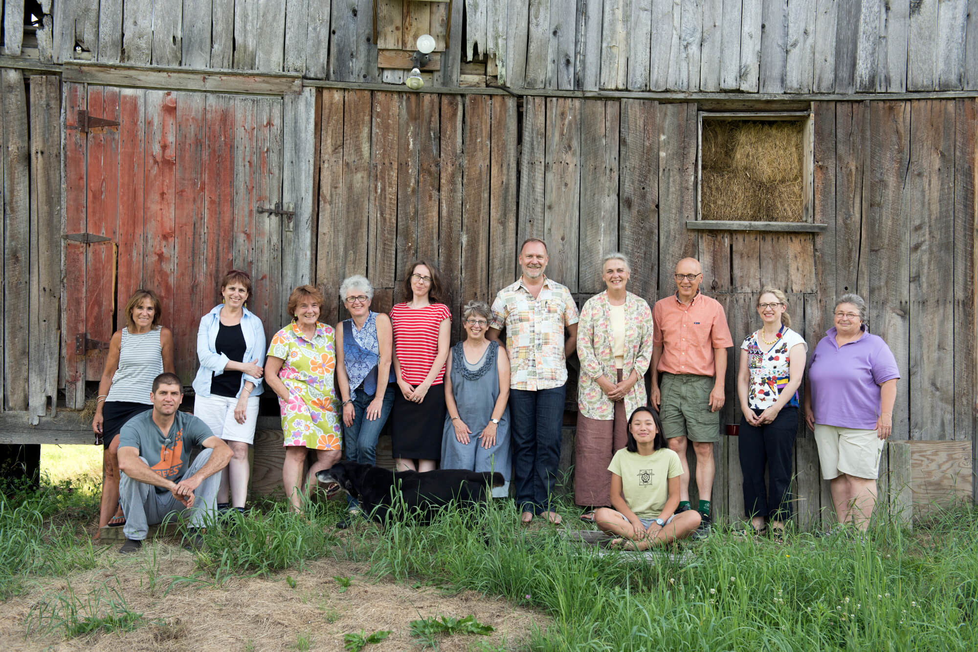 CERF+ Staff and board members at a planning retreat, summer 2016