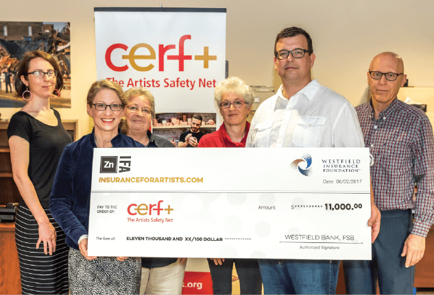 Impact cerf cerf received a 11000 grant from westfield insurance foundations legacy of caring program thanks to the help of zinc insurance freerunsca Choice Image