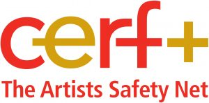 CERF+ The Artists Safety Net Logo