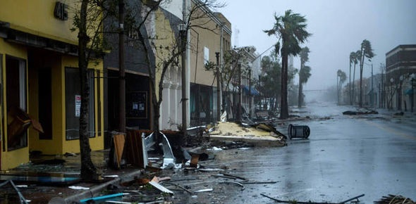 Hurricane Michael's impact on Florida Panhandle