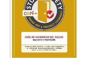 CERF+ Publica la Guía de Seguridad Para Los Artistas en Su Estudio