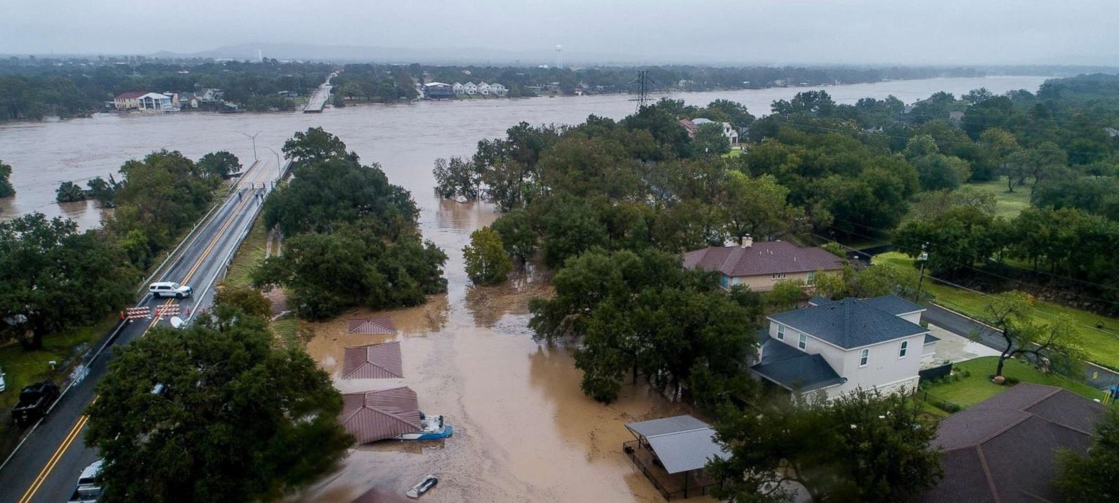 Texas flooding - October 2019