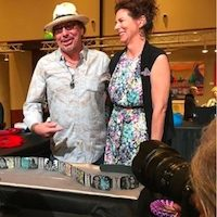 Celebrating Kevin + Valerie Pourier: Best of Show at World's Largest Native Arts Event