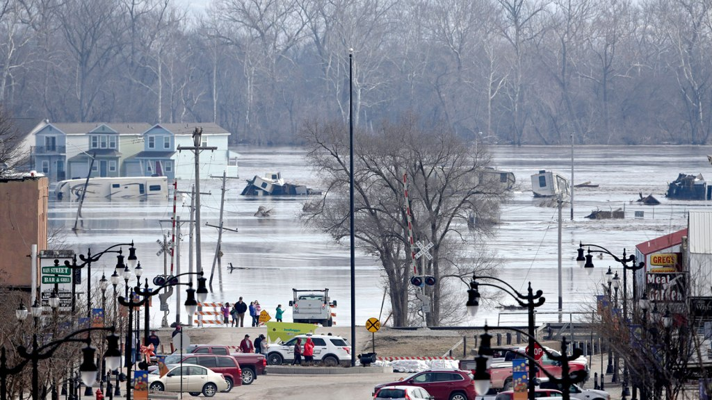 Nebraska flood photo, March 2019